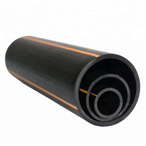 Sichuan Prime Manufacture Plastic SDR17 32-630 pe100 natural gas underground pipe