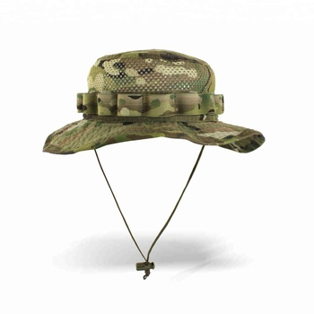 Summer Camouflage Bucket hat with string Fisherman Military safari boonies  hat 711d5c8c237