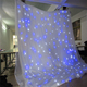 Elegant Christmas dmx led curtain led curtain led star cloth sky ceiling drape led curtain