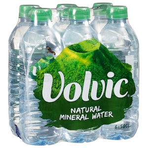 VOLVIC BRAND Mineral Water for sale
