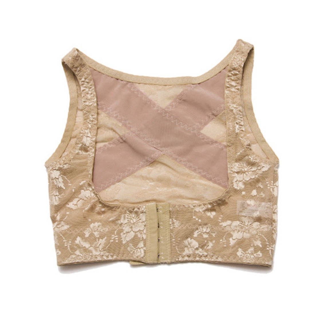 25ebd426ca796 Get Quotations · uxcell Skin Color Size L Humpback Posture Correct Bra  Chest Support Corset Braces Shaper for Ladies