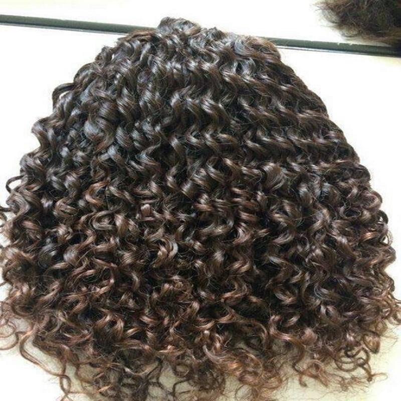 Virgin Ideal Tangle Free Crochet Braids With Human Hair