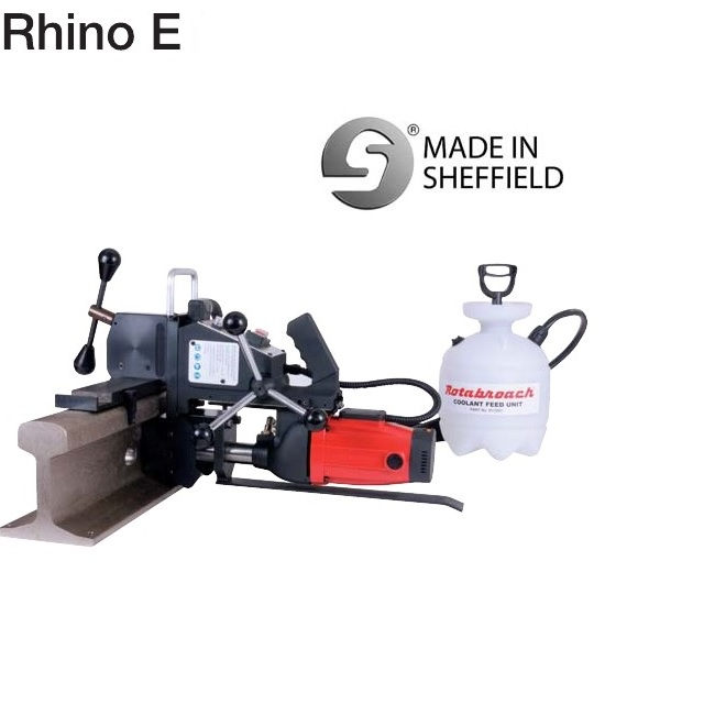 Special Tool Petrol Engine Rail Drilling Machine