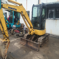 Durable Secondhand Machine Original Komatsu Used Excavator PC35 PC30 PC40 from JAPAN for sale in China