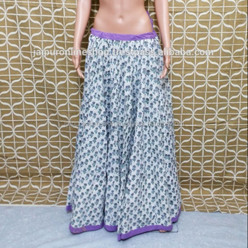 cf8b3ec96263ea Kali Skirts Online - Buy Indian Block Print Cotton Skirt,Beautiful Design  ...