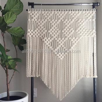 ec18f6f14858a Macrame Patterns/macrame Pattern/large Macrame Wall Hanging Pattern/modern  Macrame/pattern/diy/name: Triangles And Diamonds - Buy Tapestry Boho ...