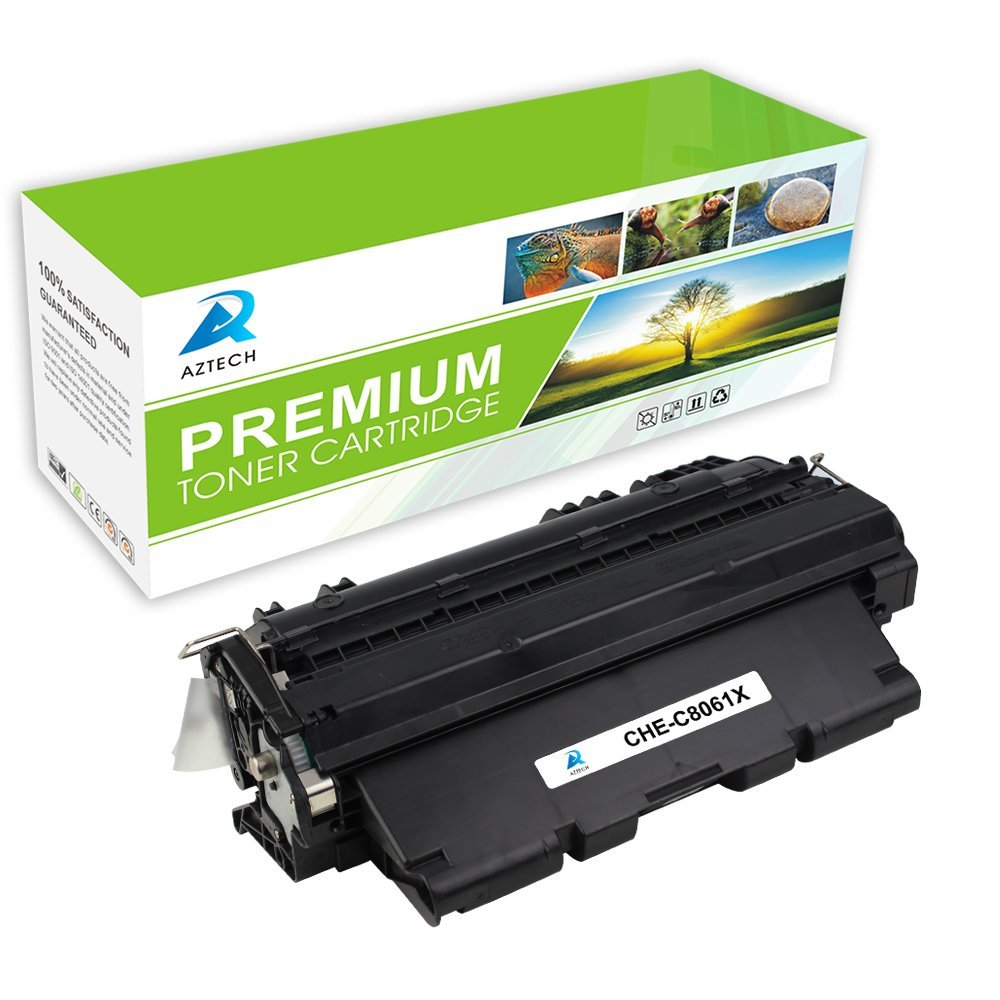 3-Pack C8061A Compatible Printer Toner Replacement for HP 61A Black Laser Toner Cartridge use for HP Laserjet Pro 4100 MFP 4100 MFP 4101 Printer High Yield