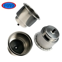 "China Factory Price Top Quality 304 Marine Hardware Stainless Steel 3-3/4"" Boat Drink Cup Holder Yacht Accessories"