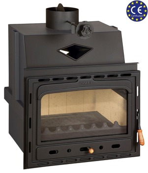 Wood Burning Fireplace Insert For Installation Prity C