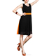 Jacket kurti / Polyester Georgette Black Color Kurti/ Short Kurti