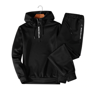 Men Clothing Set Sportswear 2019 Fashion Hoodies Sweatshirts Sporting Sets Men's Tracksuits Two Piece Hoodies+Pants 2pcs Sets
