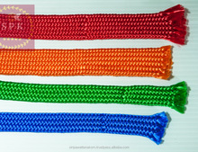 Top Quality 0.75 Inch 48-Strand PP Flat Braided Rope Multi-Color