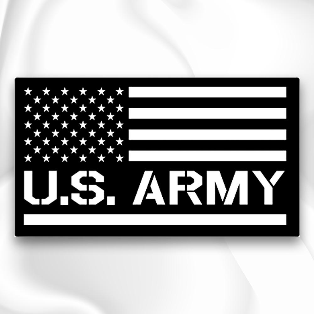 Us army veteran decal die cut vinyl stickers for car bikes windows outdoor etc