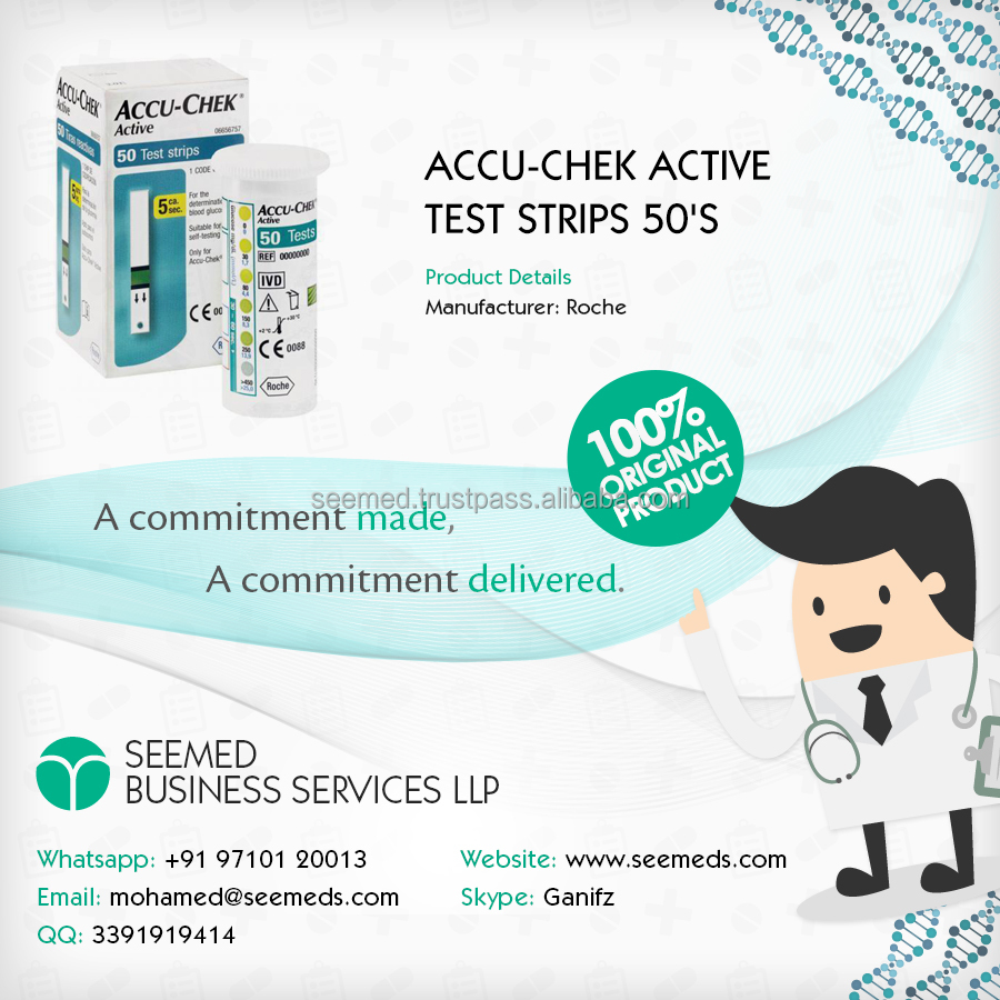 Accu Chek Active Test Strips Blood Glucometer 50s Strip Check Roche Buy Glucose Stripsrocheaccu Product On