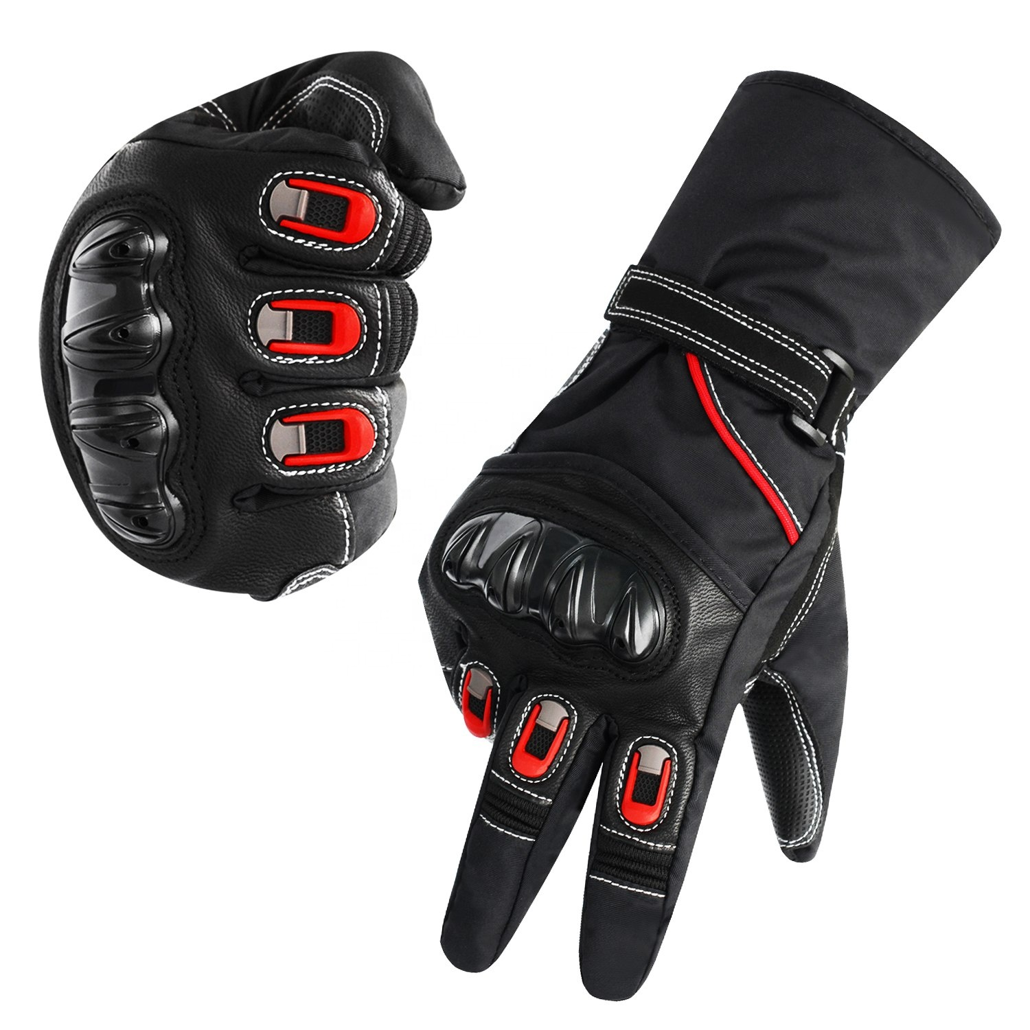 WUPP Winter 3M Thinsulate Motorcycle Racing Gloves Warm Windproof Waterproof Safety