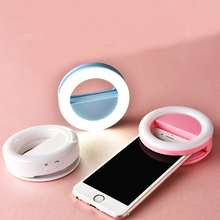 Selfie led Ring camera light 36 led USB Rechargeable Light for Smart phones with 4 Levels Brightness