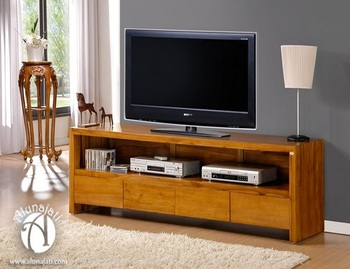 Trendy Modern Teak Wood Tv Cabinet Buy Rectangular Tv Console With Drawer Stylish Tv Cabinet Furniture Latest Design Living Room Tv Cabinet Product