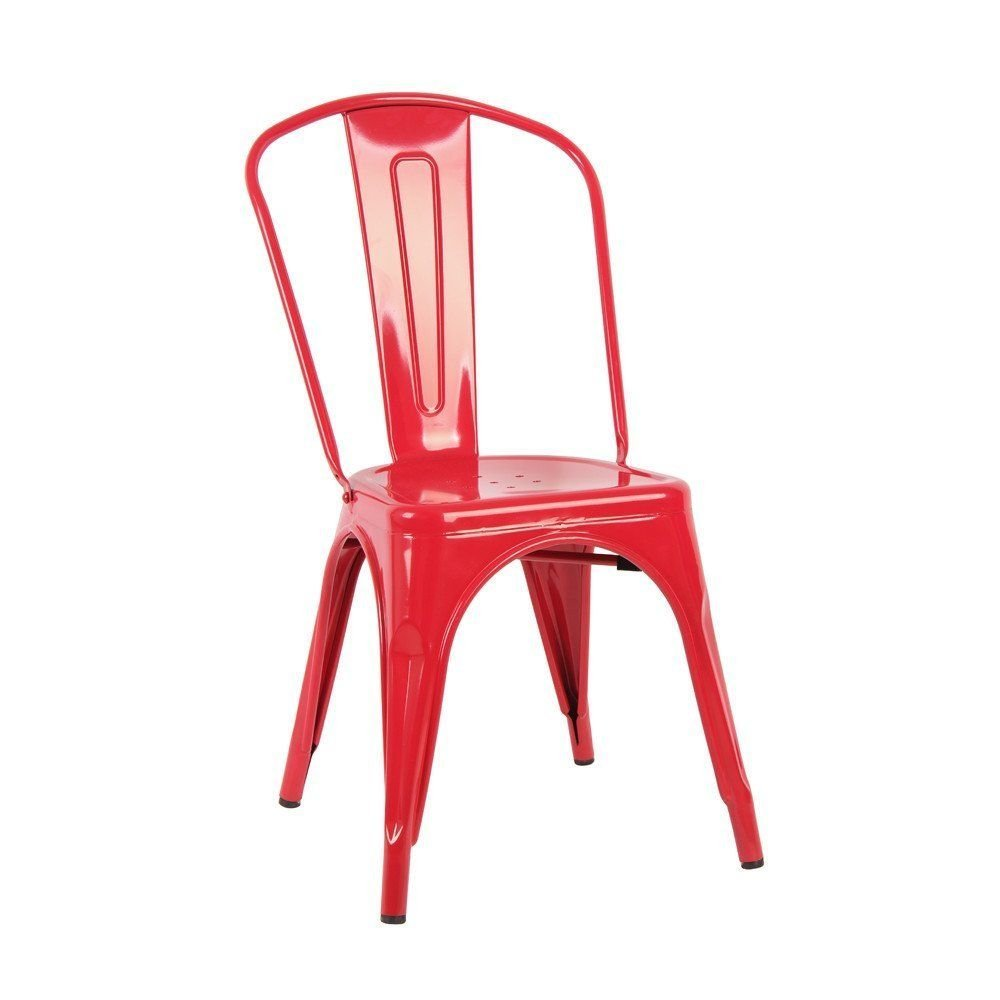 Mookshop chair red designed for indoor and outdoor use furniture protective rubber floor glides