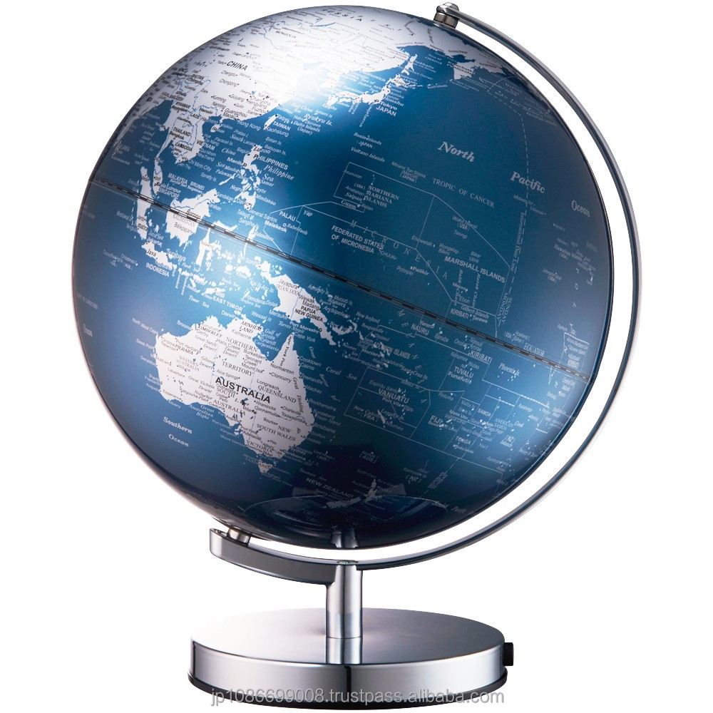 Cost-effective and Power saving illuminated world globe with lighting function