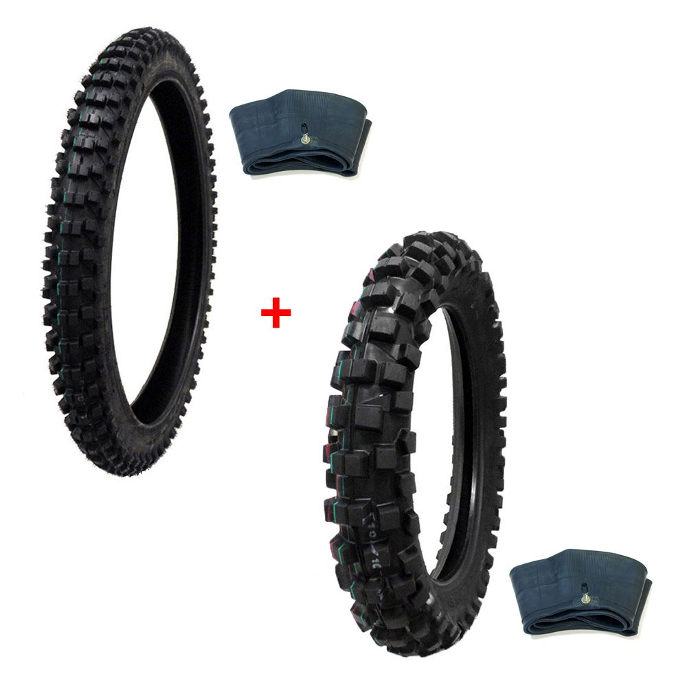 Get Quotations Tire Set Off Road By Front Size 80 100 21 With Inner