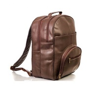 Mannen Echt Vintage Leather Back Pack Laptop <span class=keywords><strong>Rugzak</strong></span> <span class=keywords><strong>Tas</strong></span>