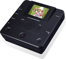 VHS Video AV IN zu DVD portable recorder player für vhs vcr mit die lcd display bildschirm