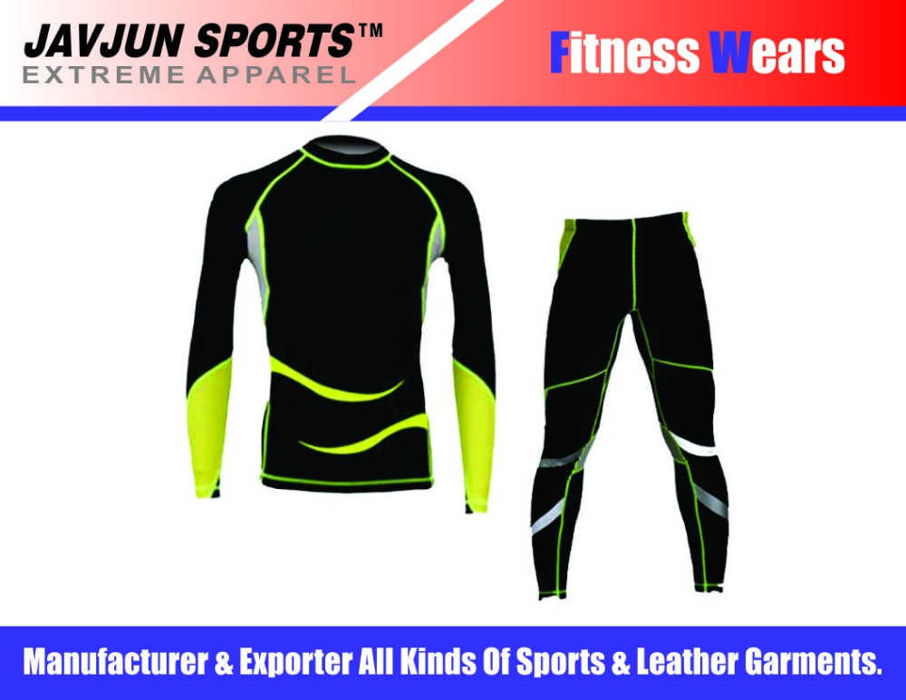 slim fit high quality track suit / gym wear / running wear