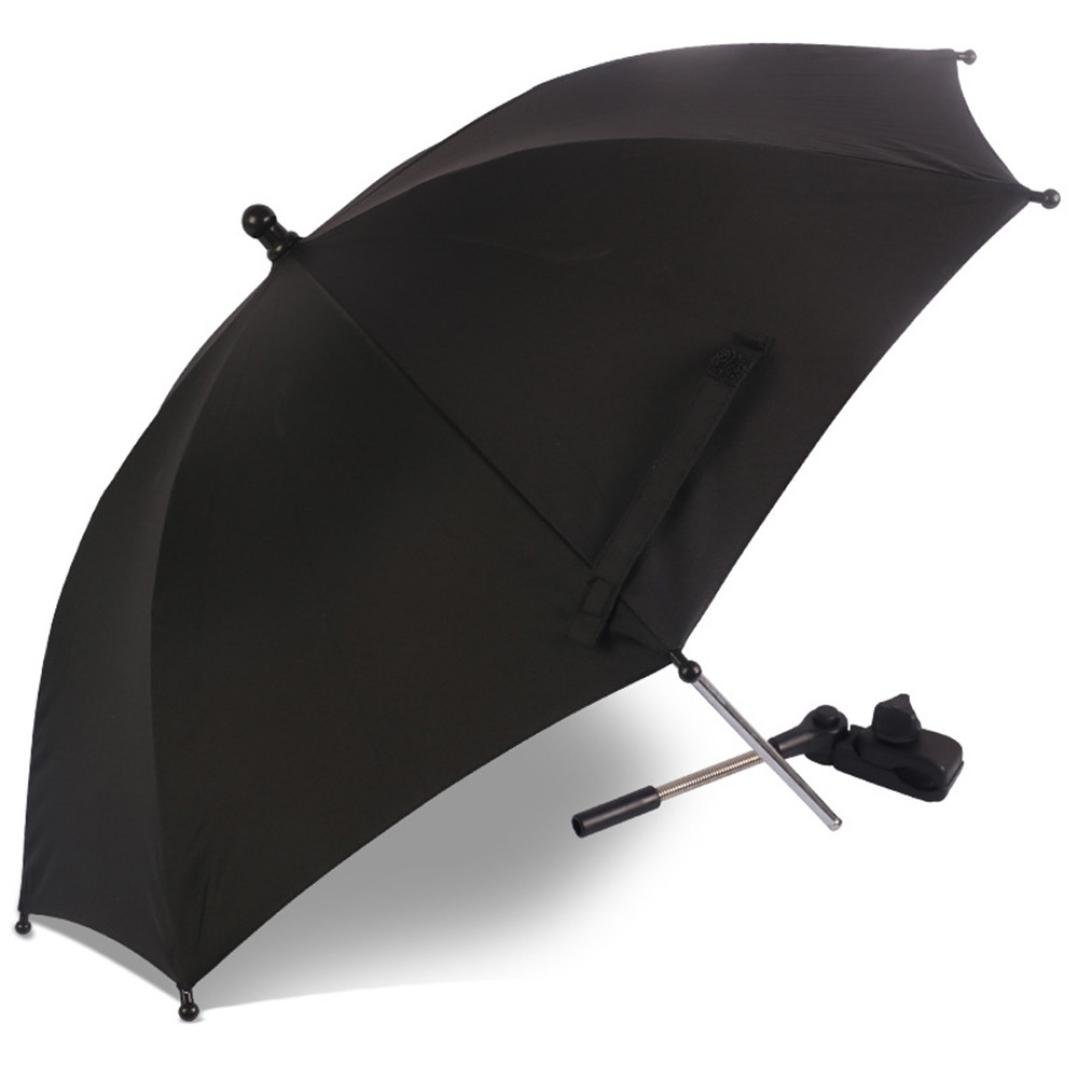 Stroller Parasol, Transer Baby Pram Pushchair Buggy Stroller Umbrella Sunshade Parasol Brolly Sun Canopy