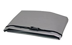 WJ Dennis & Company 20 Window Air Conditioner Cover, Fits 10,00-15,000 BTU Models, 27-Inch W x 18-Inch H x 22-Inch Dia, Grey by W. J. Dennis & Company