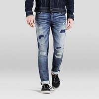 Denim Jeans - 2019 new Stylish boys custom designed distressed denim pants