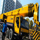 low price used truck crane 100 ton made in China for sale