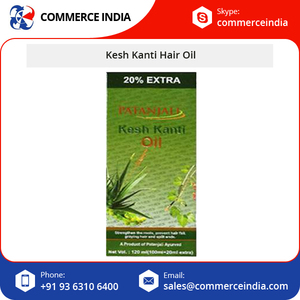 Patanjali Kesh Kanti Indian Hair Oil for Deep Root Nourishment and Strengthening