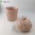 top pink flower pattern ceramic canisters with ceramic lids