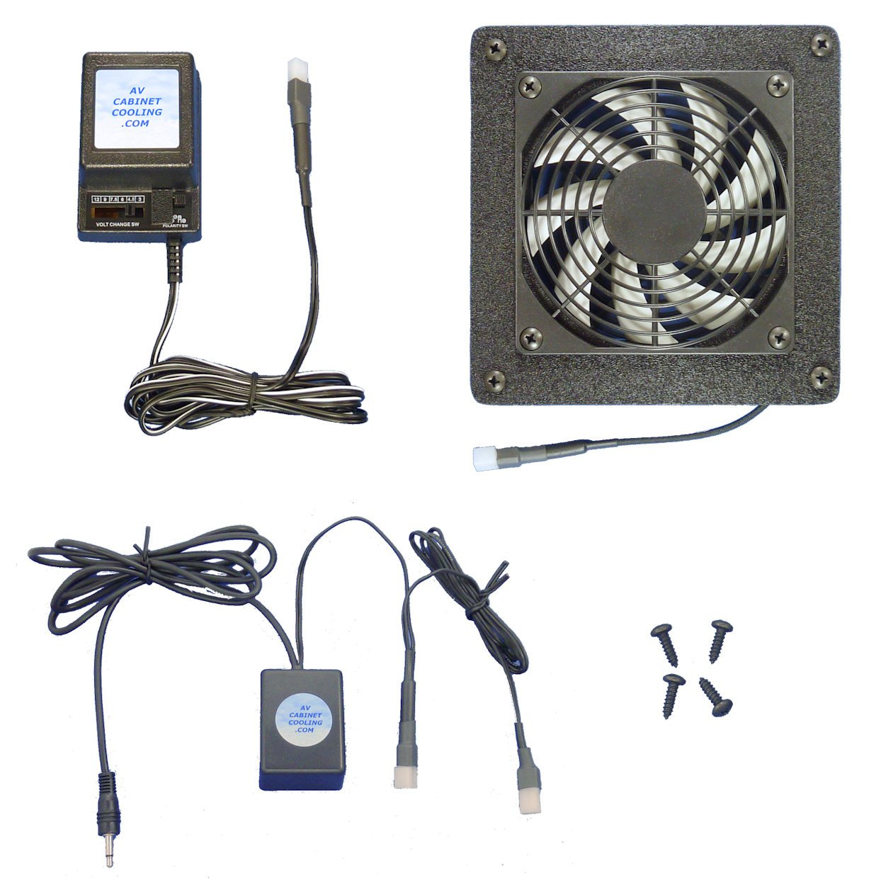 Ordinaire Get Quotations · AV Cabinet 12 Volt Trigger Controlled Cooling Fan System,  With Multi Speed Fan