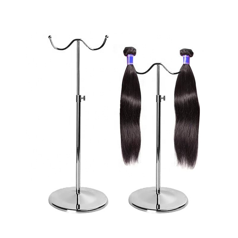 Metal hair extension display rack stand for <strong>retail</strong>