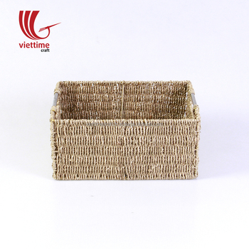 High Quality Seagrass Basket/Vietnamese Seagrass Storage Basket