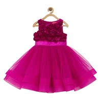Toy Balloon Kids Pink Rosette Girls Party Dress