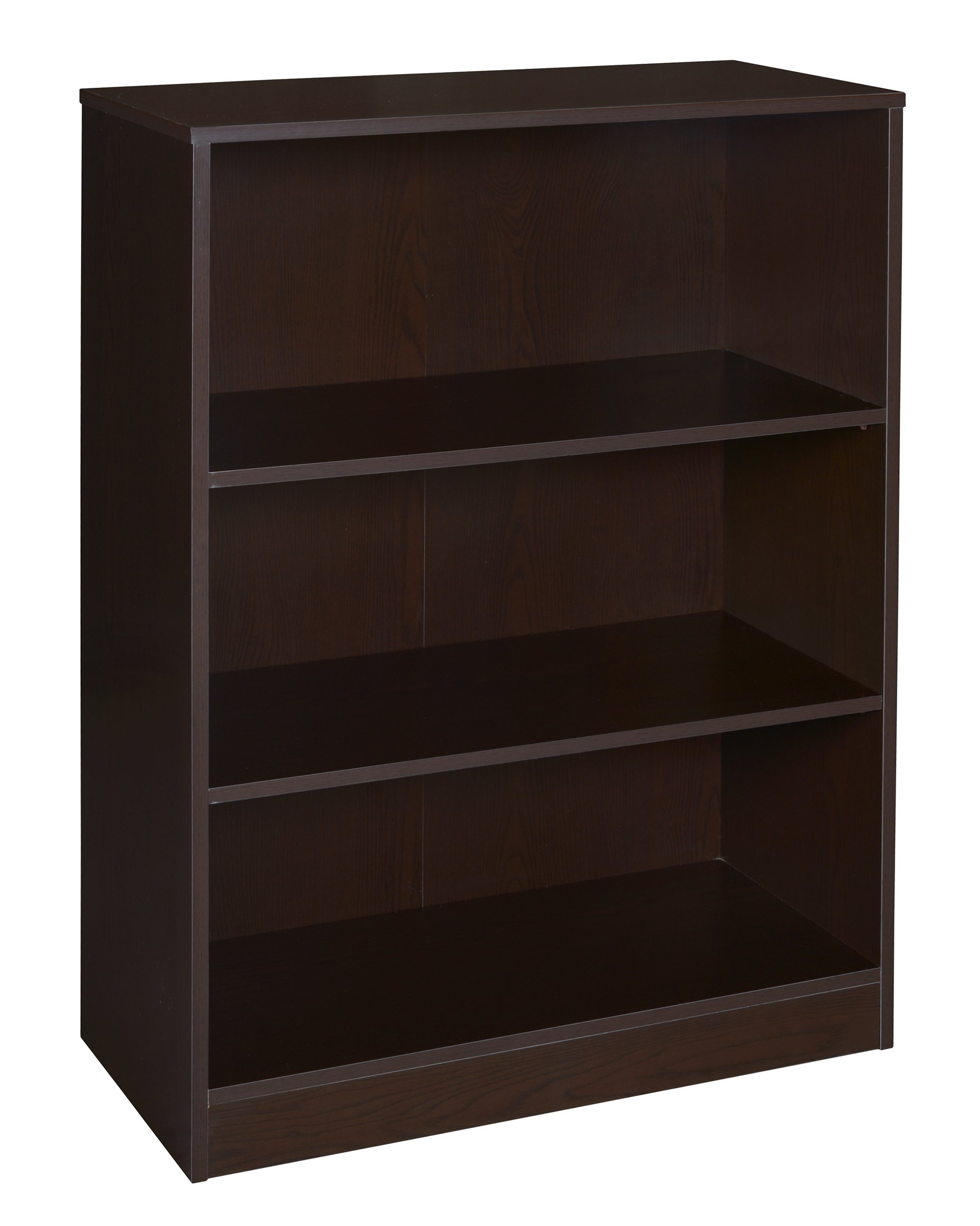 "Niche NBC4230TF Mod Bookcase with No-Tools Assembly, 42"", Truffle"