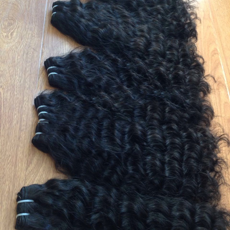Cheap Full Cuticle Aligned Indian Hair Natural Human Virgin Hair 30Inch