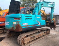Good Performance Used Kobelco Excavator SK130 made in Japan / USA, Construction Equipment for hot sale