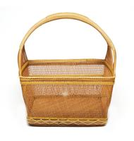 High quality Thai rattan basketry women lady bag wicker basket exquisite handicraft work from Thailand