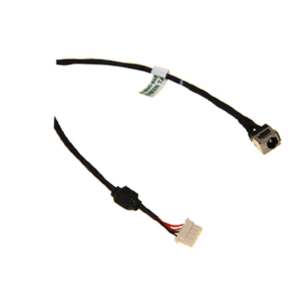 Cable Length: 10 PCS Computer Cables DC Power Jack with Cable for Toshiba L700 L740 L745 L745D L745-S4310 L740-BT4N11 DC Connector Laptop Socket Power Replacement
