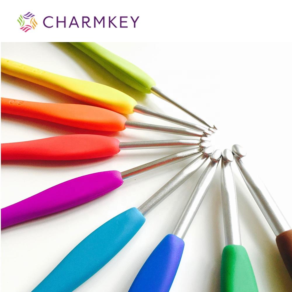 13 Different Sizes Aluminum Alloy Circular Knitting Needles Mutiple Random Colors