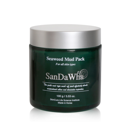 SanDaWha Korean Natural Skin Care from Jeju Island, SanDaWha Seaweed Mud Pack
