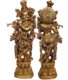 Metal Statue Lord Krishna Brass Statue for your Religious Decoration and Gifting Handmade Product Hand Carving