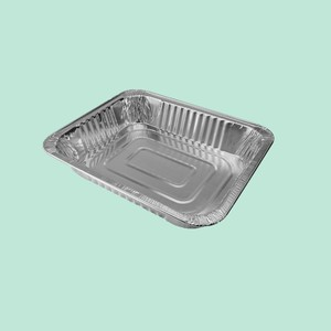 Steam Pan Disposable Catering container Aluminum Foil Food Tray