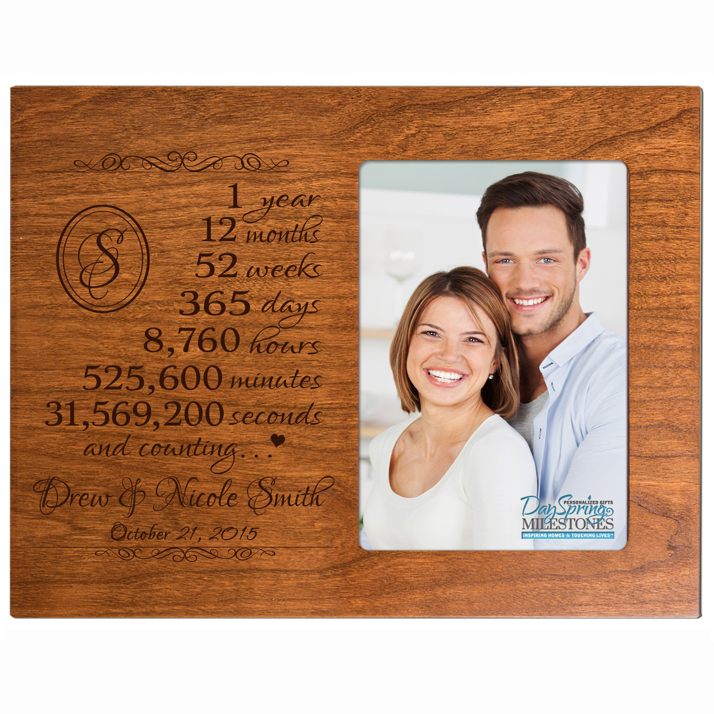 Buy Personalized One Year Anniversary Gift For Her Him Couple Custom