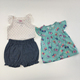 Newborn Boutique Romper Baby Girl Summer Kids Clothes Set Wholesale