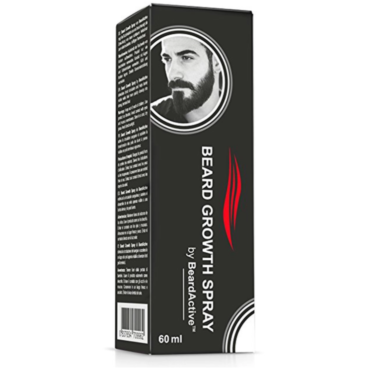 Beard Growth Spray 60ml Beard Grow Stimulator 100% Natural Beard Growth Facial Care