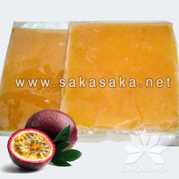 Frozen Passion Fruit Juice and Whole